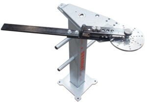Wrought Iron Bender Attachment on optional TBSTAND Tube Bender Stand.